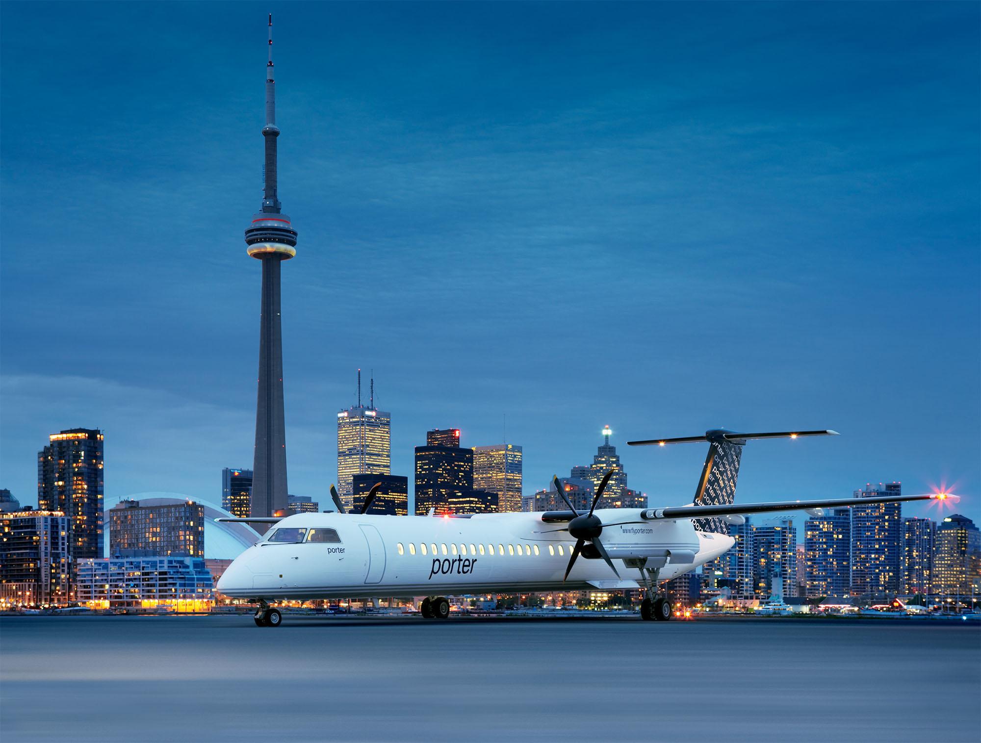 Porter Airlines – De Toronto au paradis du golf